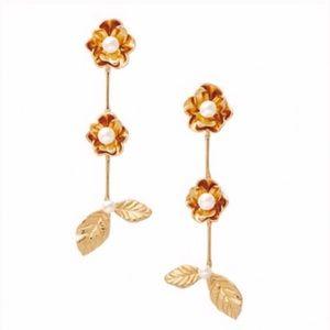 KATE SPADE • Lavish Blooms Linear Earrings